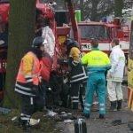 verkeersongeval tijdens werktijd auto-ongeluk aanrijding