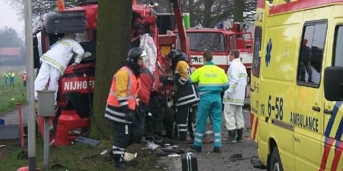 verkeersongeval tijdens werktijd auto-ongeluk onder werktijd