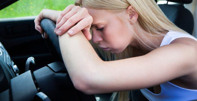 Ongeluk met auto van de zaak aanrijding leaseauto