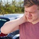 nekklachten na aanrijding last van nek