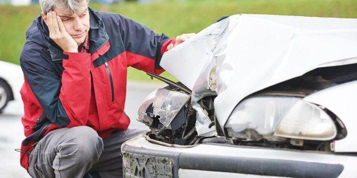 schadevergoeding na aanrijding met auto van de zaak