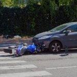 Brommerongeluk: bromfietser schuldig aan aanrijding met brommer?