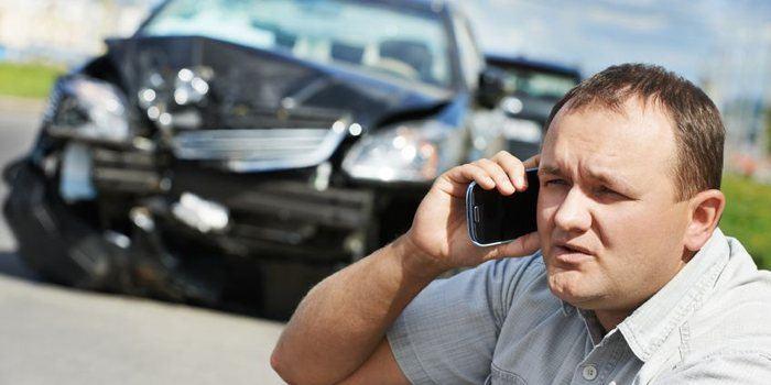 Aangereden door een taxi en schade claimen